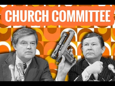 Church Committee Hearings: Helms and Karamessines (CIA)