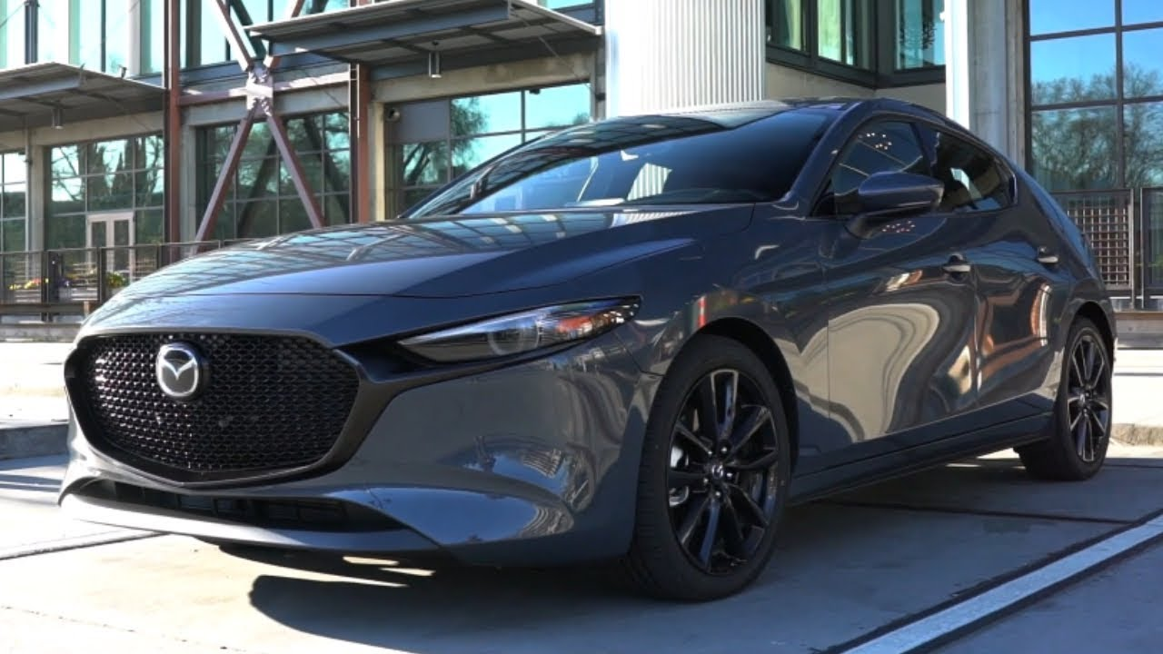 car pictures review: 2020 mazda 3 hatchback turbo