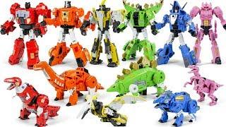 Download lagu Transformers PowerRangers Dinobot POTP OverSized Dinosaur Transform Robot Toys MP3