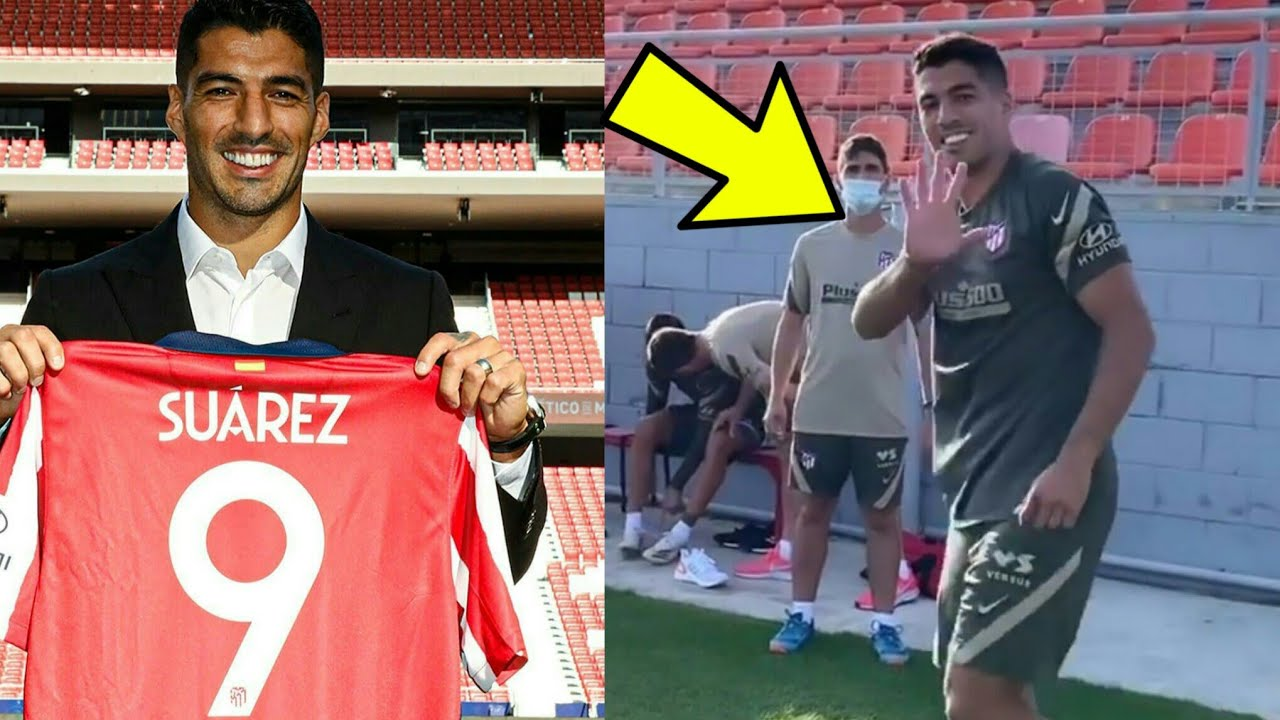 Luis Suarez officially joins Atletico Madrid 🔴⚪