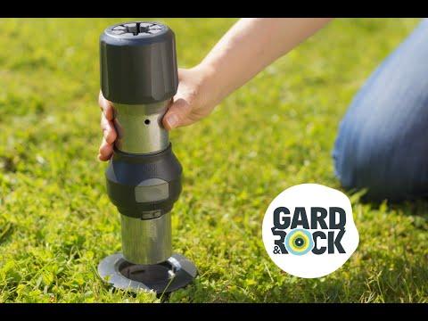gard rock une base d 39 ancrage pour tout fixer dans votre jardin youtube. Black Bedroom Furniture Sets. Home Design Ideas