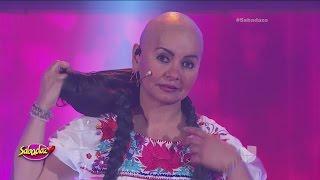 La comediante Bettina Salazar, 'Olga Sana', reveló que lucha contra el cáncer