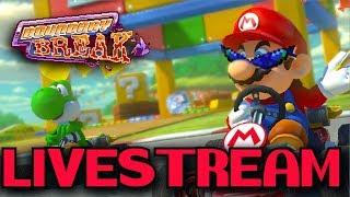 Mario Kart 8  live Boundary Breaking (08/09/17)