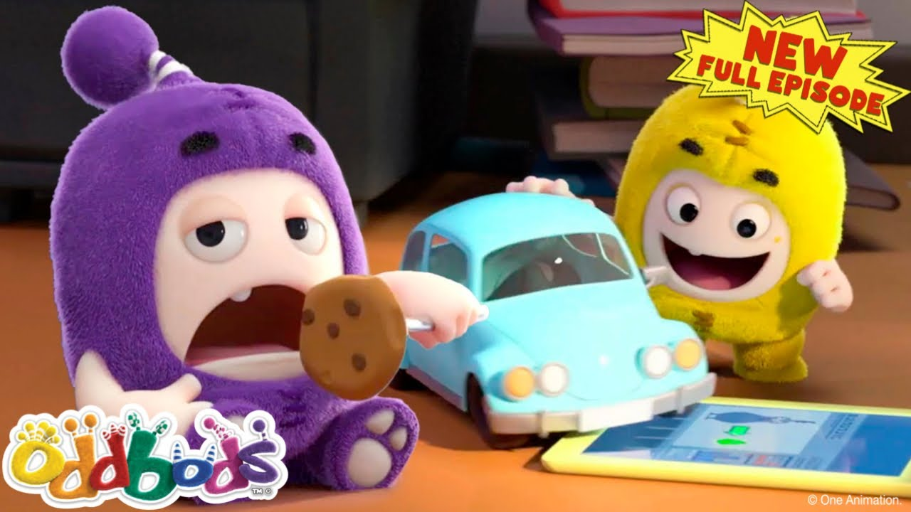 ODDBODS | Baby Oddbods On The Loose! | NEW Full EPISODE COMPILATION | Cartoons For Kids