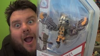 Marvel Toybox Rocket Raccoon & Groot Disney Store Exclusive Action Figure Review