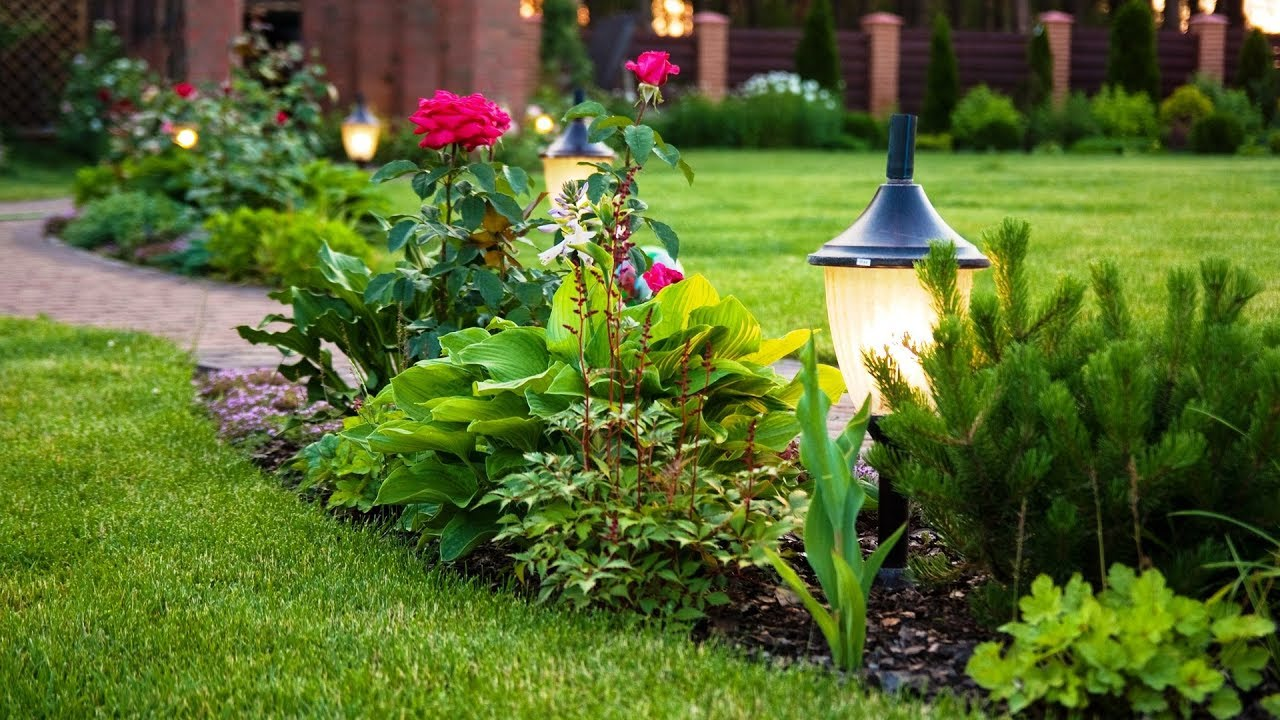 Ландшафтный дизайн садового участка своими руками / Landscaping Ideas / A - Video