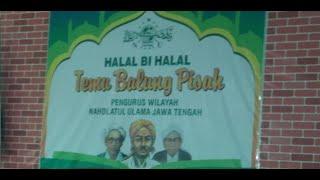 Halal Bihalal PWNU JAWA TENGAH