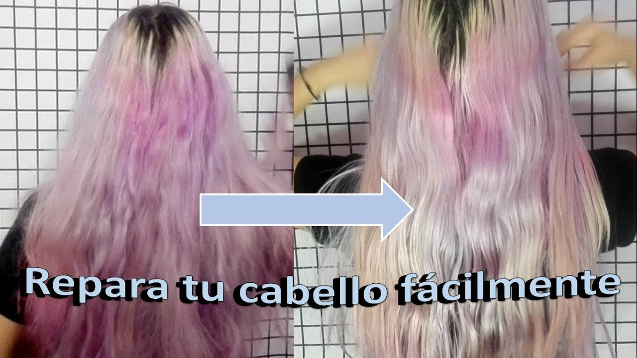 como revivir el cabello quemado