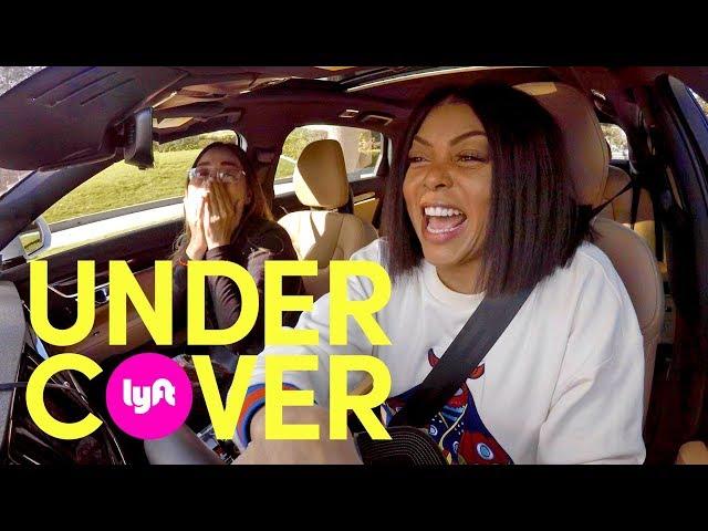 Undercover Lyft with Taraji P. Henson