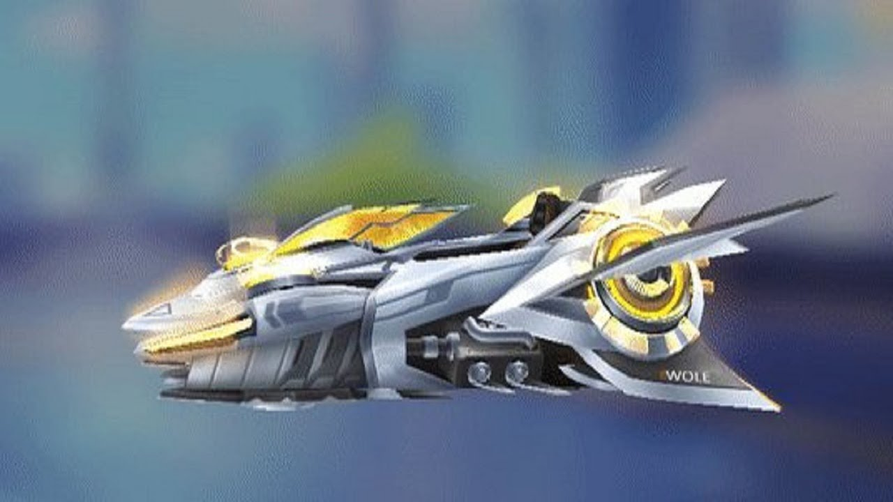 QQ飞车:原装S车星际战舰