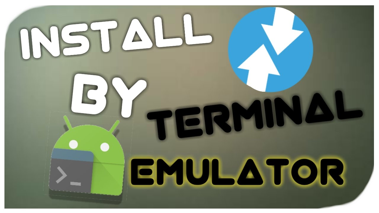 how to install custom recovery twrp with terminal emulator