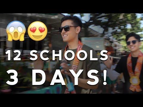 WE PERFORMED IN 12 SCHOOLS IN 3 DAYS!