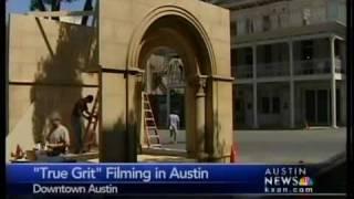True Grit begins filming