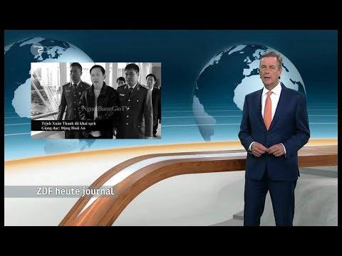ZDF heute journal: Vietnamese in Berlin verschleppt