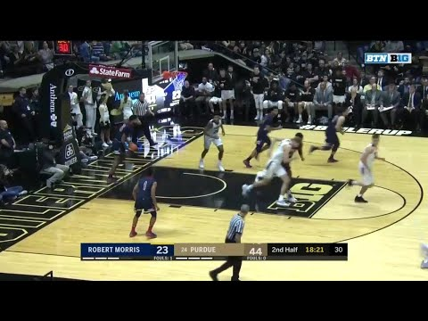 Highlights: Robert Morris at Purdue | Big Ten Basketball