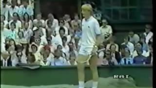 1985   Wimbledon   Finale   Boris Becker b Kevin Curren 02 19