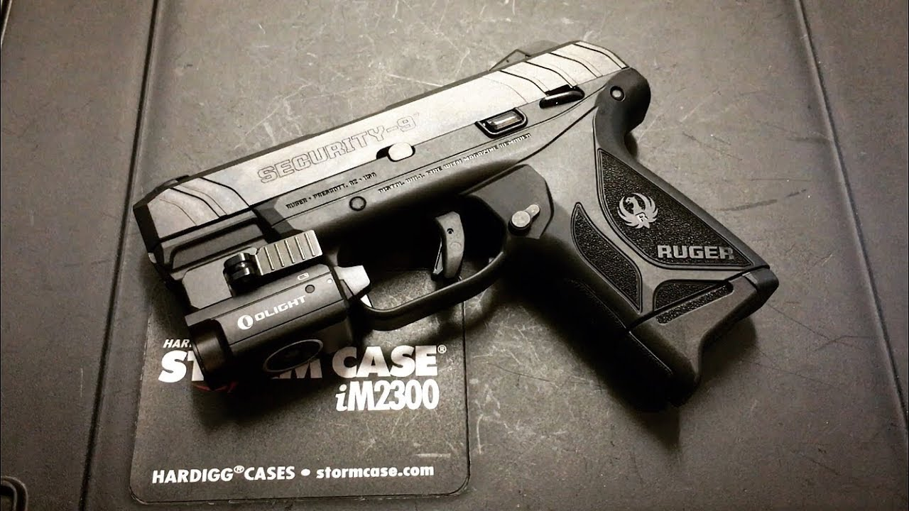 NEW Compact Ruger Security 9mm !!!