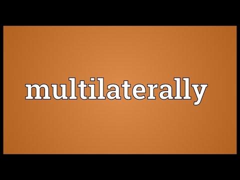 Header of multilaterally