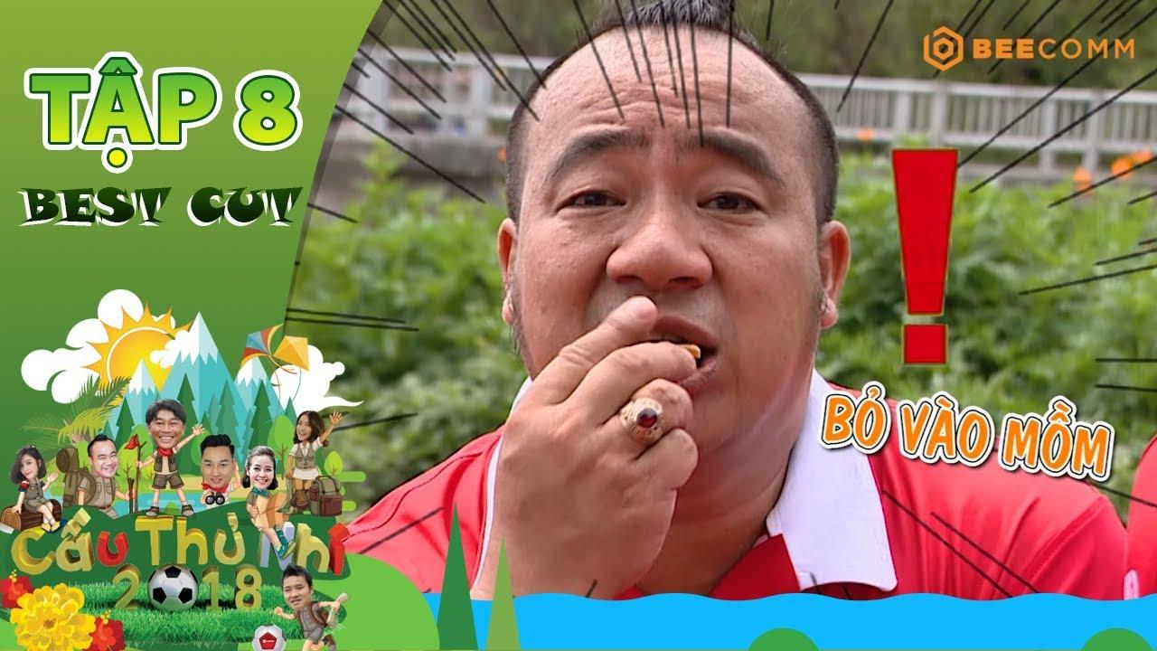 Hiếu Hiền nhiệt tình ăn vụng trong khi gói kẹo dừa | Best Cut Cầu Thủ Nhí 2018