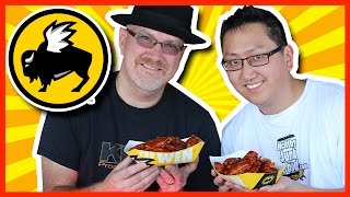 Blazin' Wing Challenge at Buffalo Wild Wings with JP from Hellthy Junk Food Video