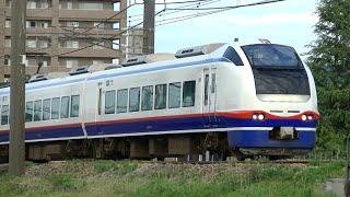 特急しらゆき8号上越妙高行きE653系H203編成 信越本線上り58M