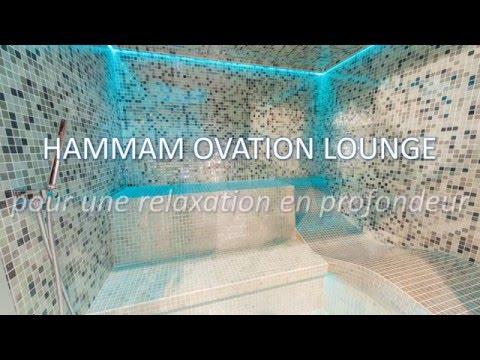 Cabine de Hammam haut de gamme : le modèle Ovation Lounge - YouTube