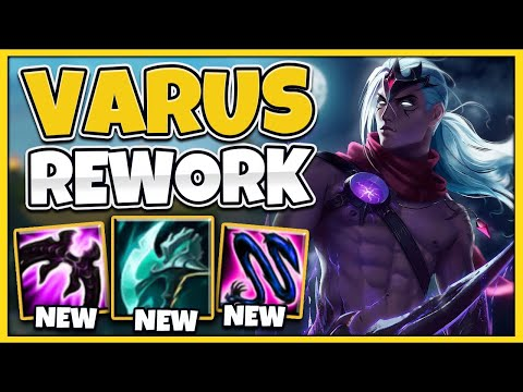 *NEW UPDATE* SEASON 11 VARUS IS RIDICULOUS (CRAZY AOE NUKES) - League of Legends