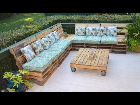 Pallet Couch Sofa The Tarrou Way Time Stamps In Description