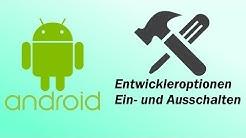 Android - Entwickleroptionen Ein- und Ausschalten