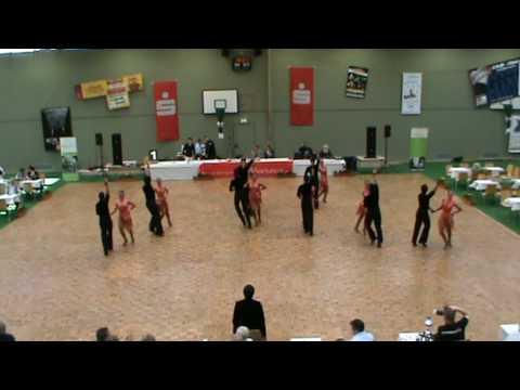 TSC Ibbenburen Latein Formations Turnier Weyhe 2010 finale