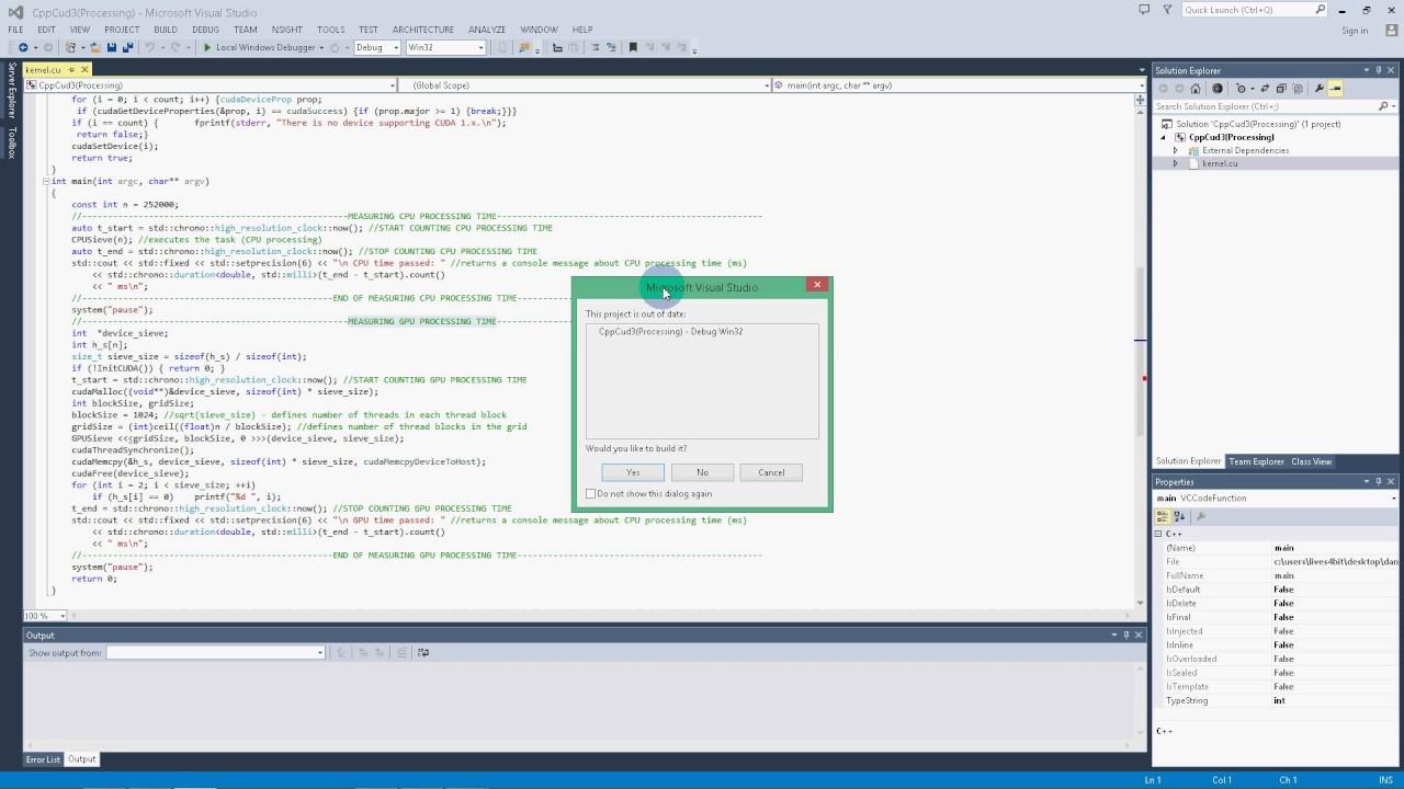 CUDA C++ Array Addition & Prime Numbers Generator (CPU vs  GPU)