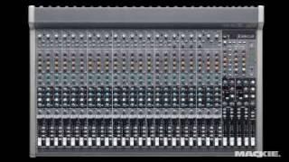 Mackie 2404-VLZ3 & 3204-VLZ3 4-Bus FX Mixers w/USB