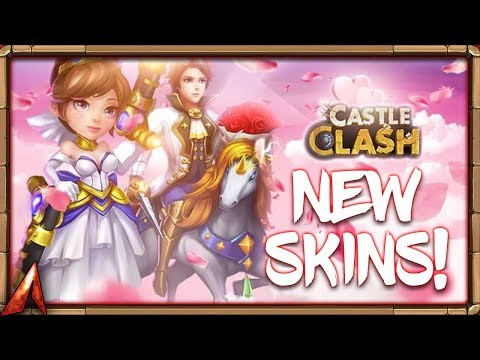 NEW SKINS Sneak Peek! Revenant!? Castle Clash