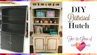 How to Distress Furniture Shabby Chic Transformation with Chalk Paint