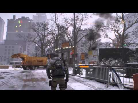Tom Clancy's The Division™ tour of the Flat Iron Building and Empire State Building