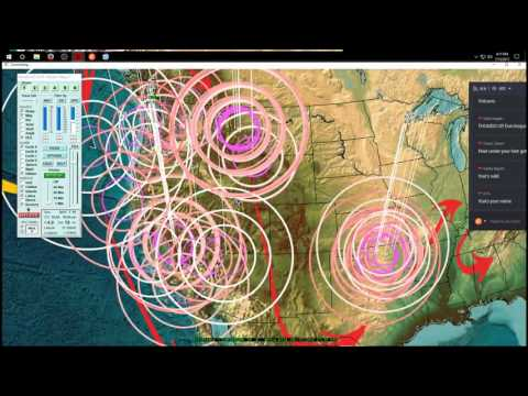 7/12/2017 -- Earthquakes strike West Coast USA / Oregon , Japan, and Macedonia as expected