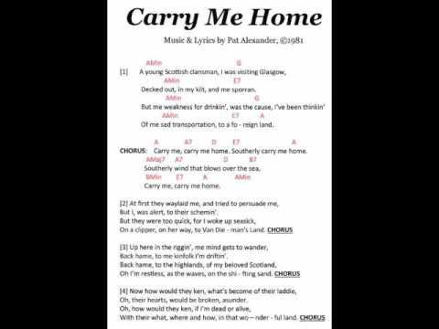 Carry Me Home Audio Youtube