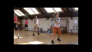 ZUMBA FITNESS Jennifer Lopez - Dance again / Pitbull - Back in time (ZUMBA Ildiko)