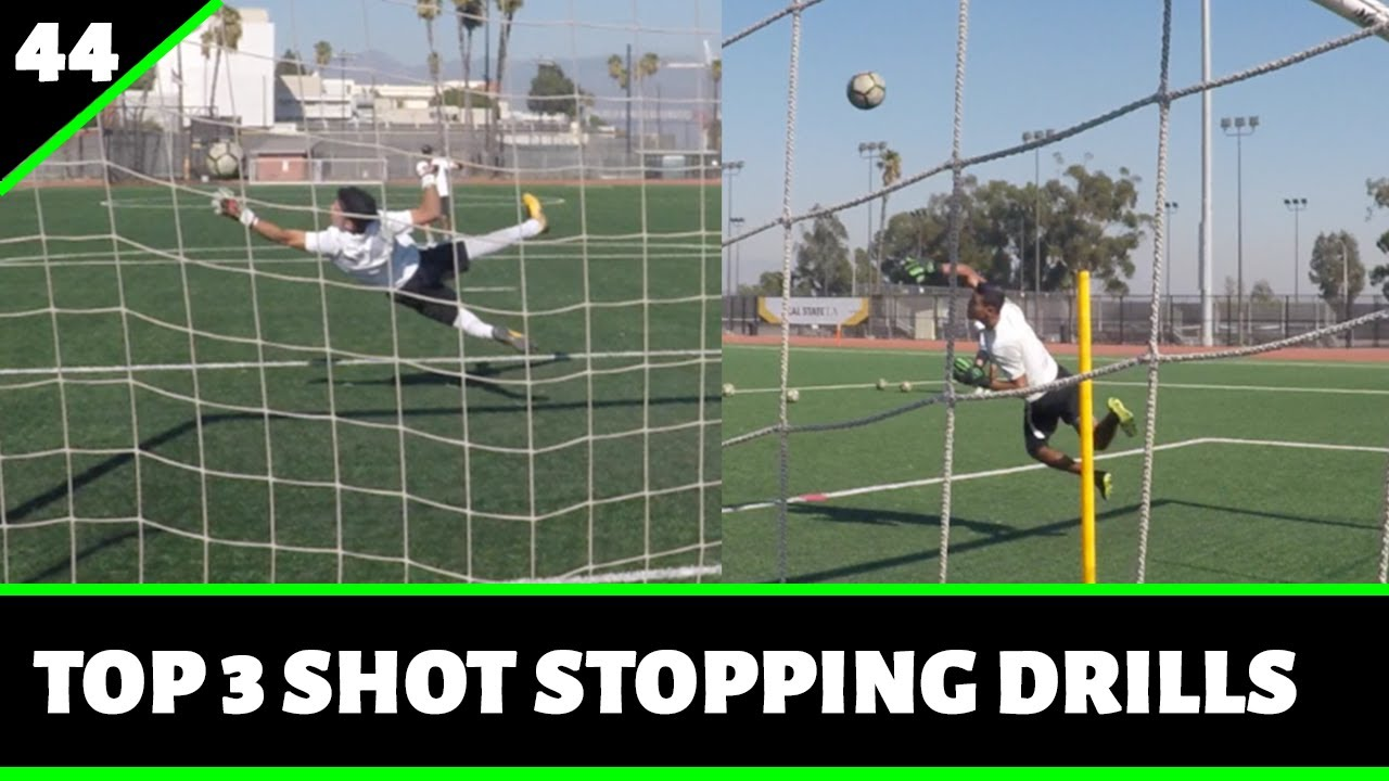 3 Angle Shot Stopping Drills [FULL SESSION] || Pro Gk