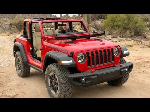 2018 Jeep Wrangler JL Soft Top & Windshield Demo