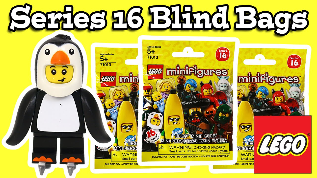 Lego Minifigure Series 16 Blind Bags Youtube