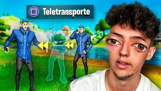 ME TELETRANSPORTO  en FORTNITE 2. *no clickbait*