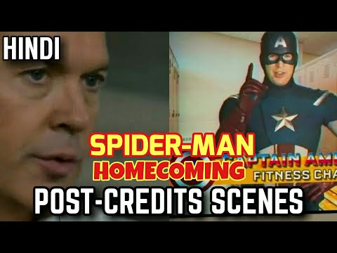 SpiderMan Homecoming Hindi | What's in the Post-Credits Scenes | Sony-Marvel India