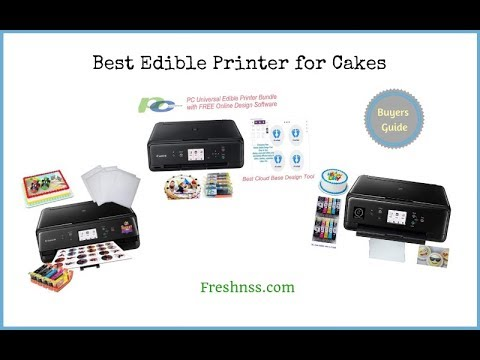 ✅Edible Printer: Reviews of the 5 Best Edible Printer for Cakes, Plus the Worst to Avoid ❎