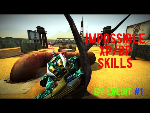 TANKI ONLINE `IMPOSSIBLE XP/BP SKILLS' (SPECIAL VIDEO 7500) By Credit #1