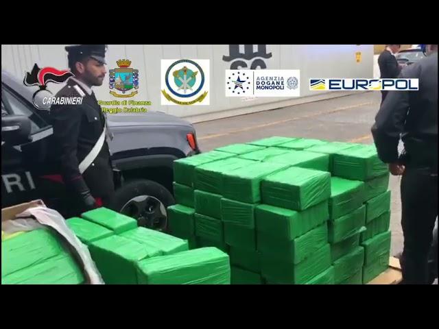 Gioia tauro(RC)- Sequestro droga