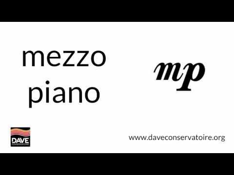 Mezzo piano | Dave Defines