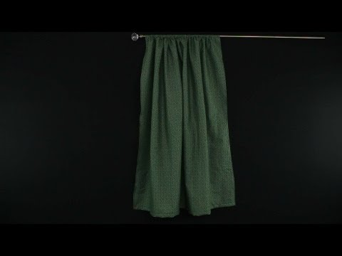 How to Sew a Basic Curtain Panel
