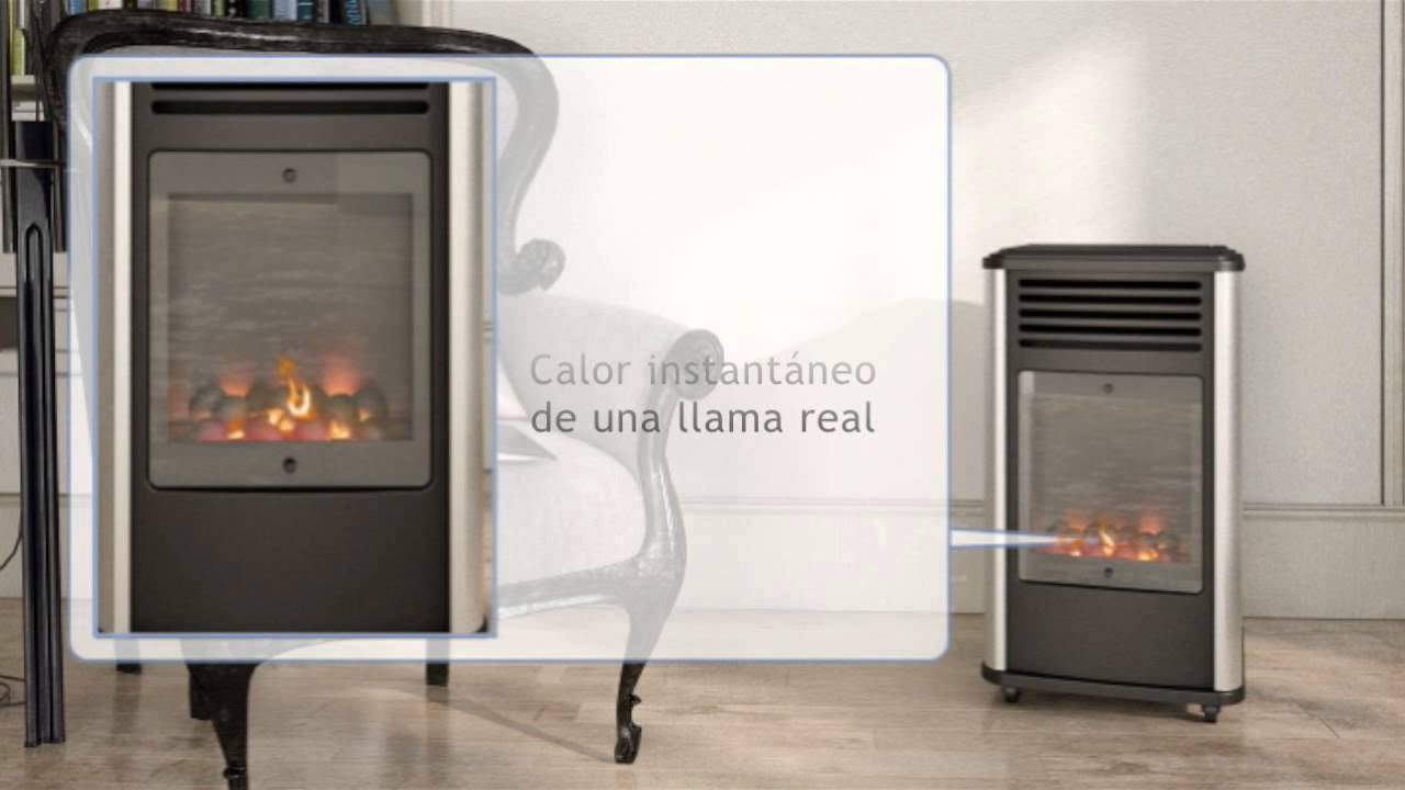 Estufa de gas radiante fireside manhattan youtube - Estufa de gas radiante ...