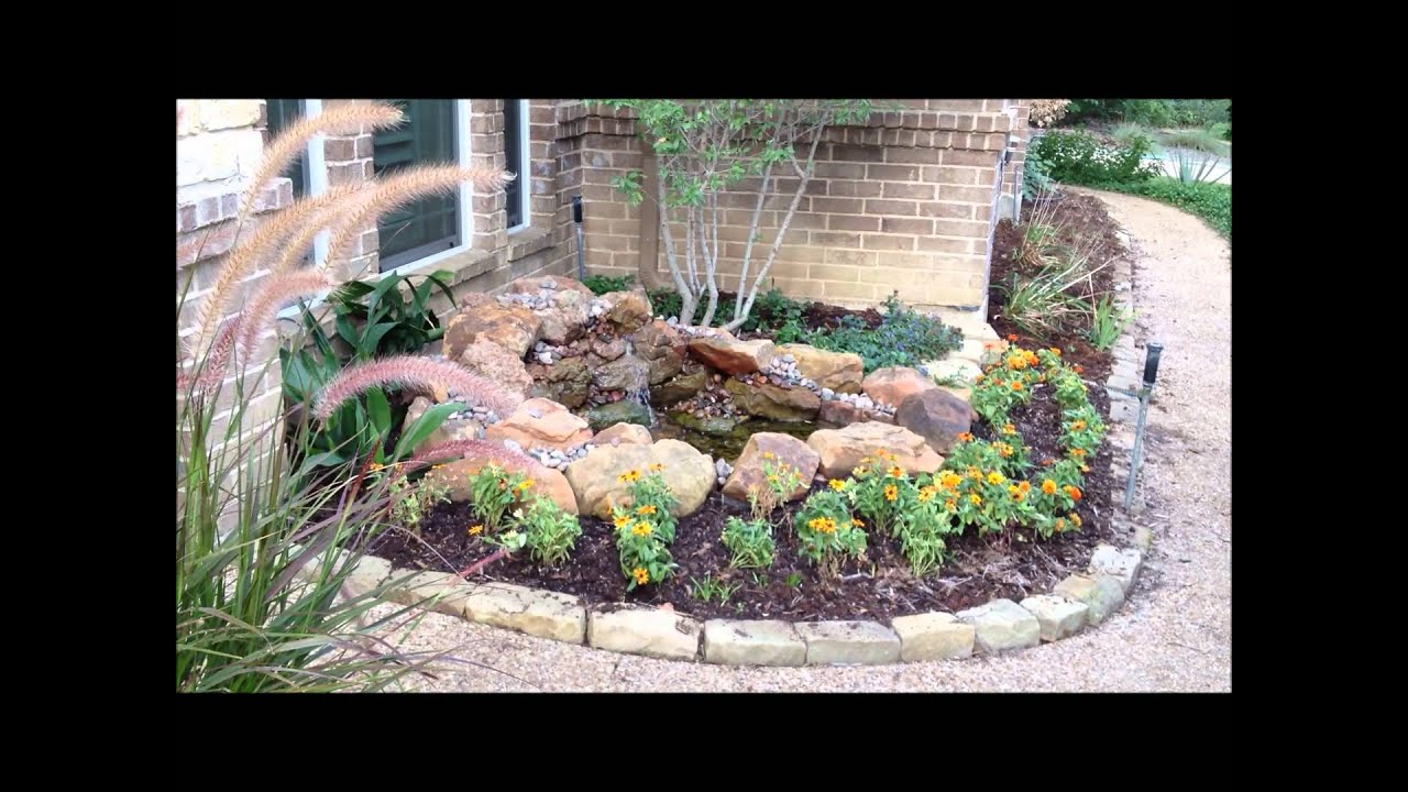 Front entry water feature for your home youtube Home water features